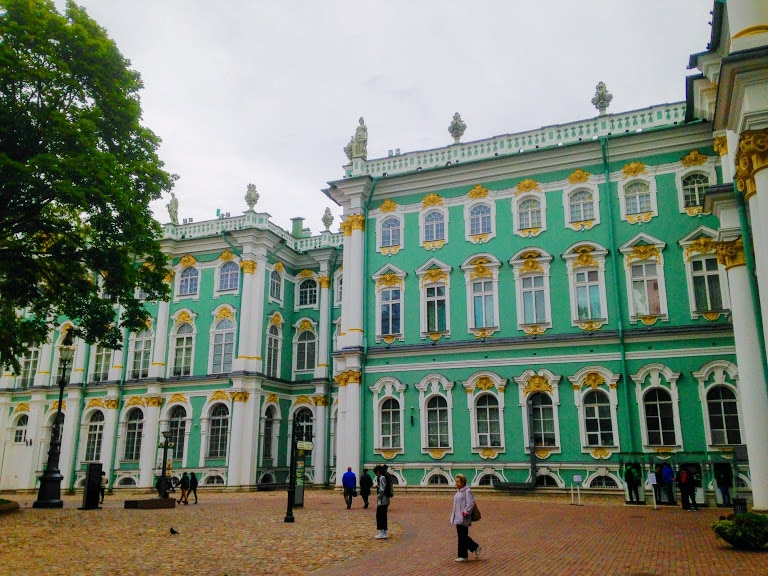 The Hermitage Museum/Winter Palace in St Petersburg, Russia