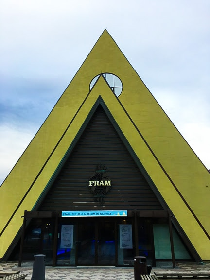 Fram Museum in Oslo, which is included in the Oslo Pass.