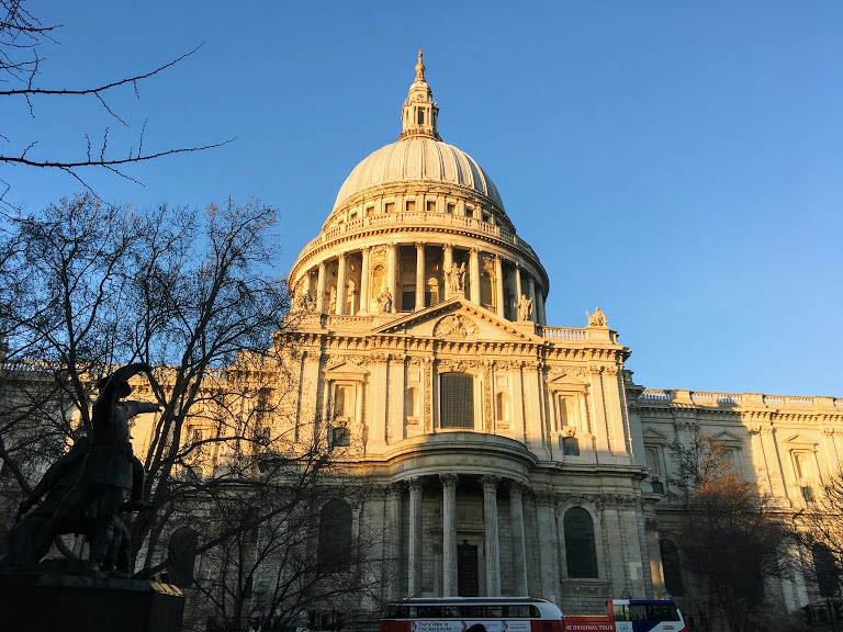 St Paul's Cathedral, London. Living here means I walk past this every day on my way to work!