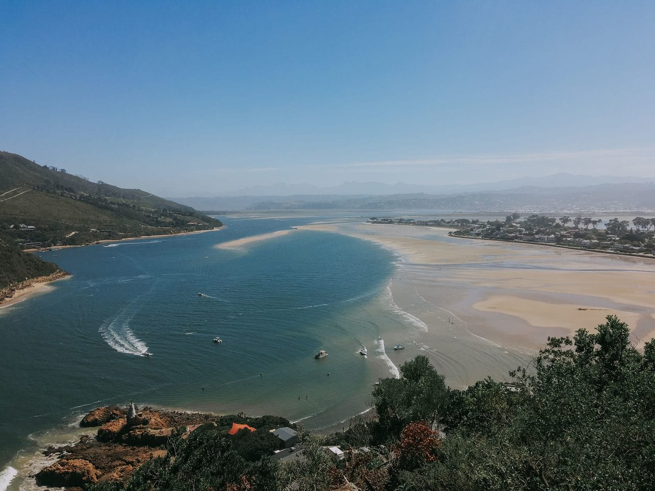 Knysna is a highlight of travel on the Garden Route, and it costs nothing to see it's best bits