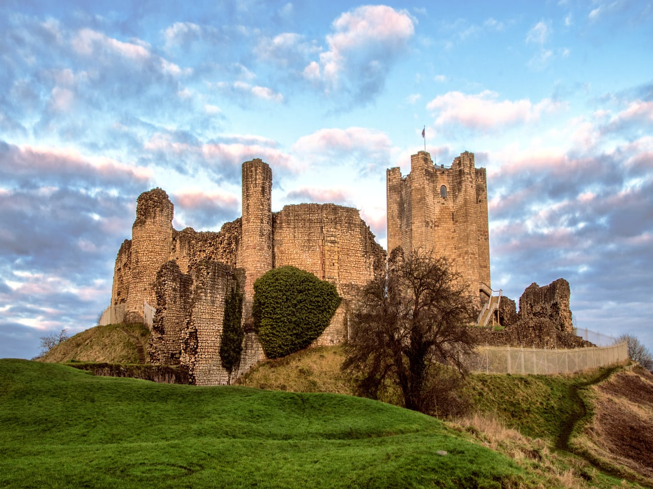 Conisbrough Castle in South Yorkshire is the best of all days out with kids.