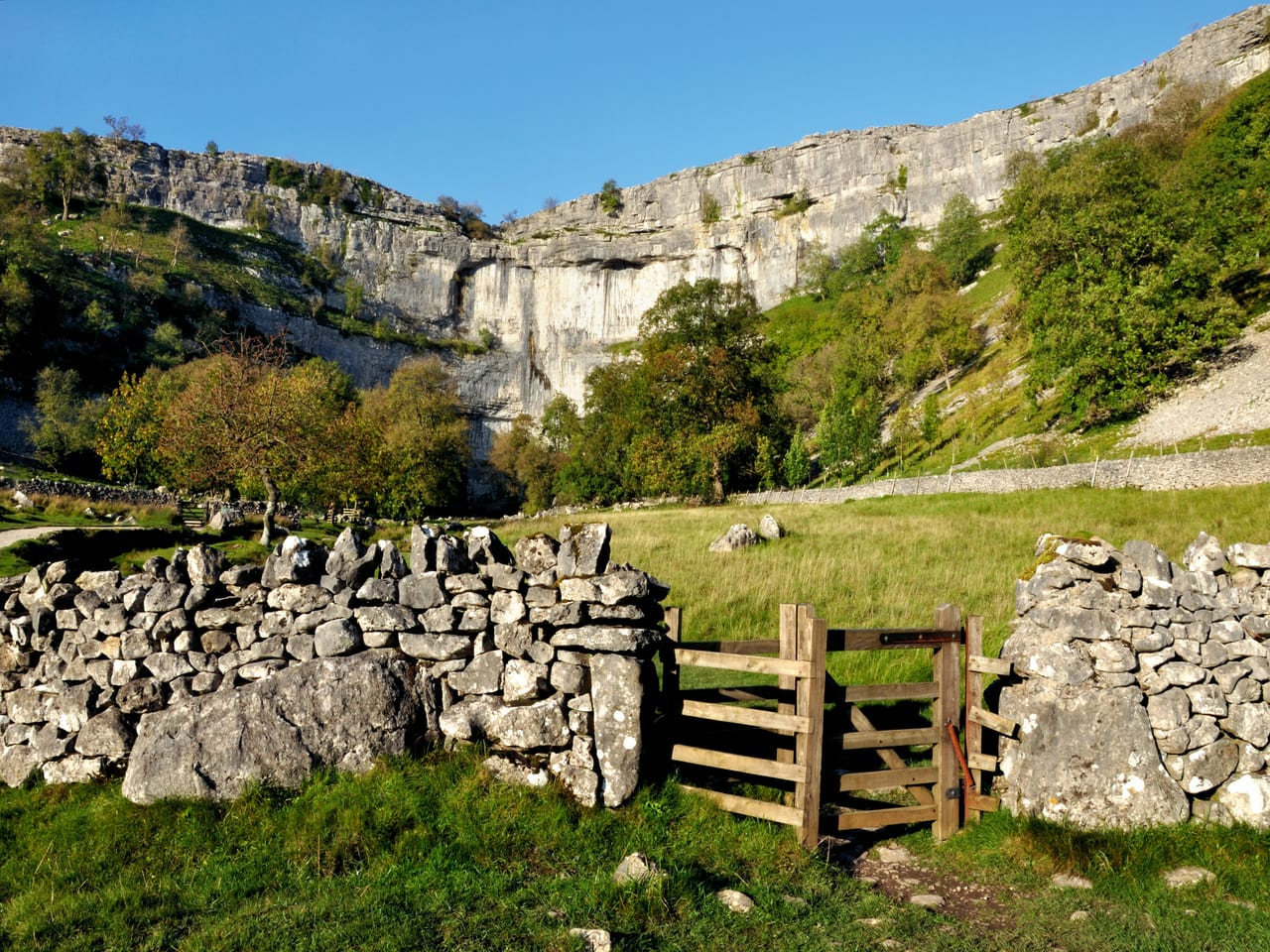 Malham Cove, one of the best hikes and free days out in North Yorkshire