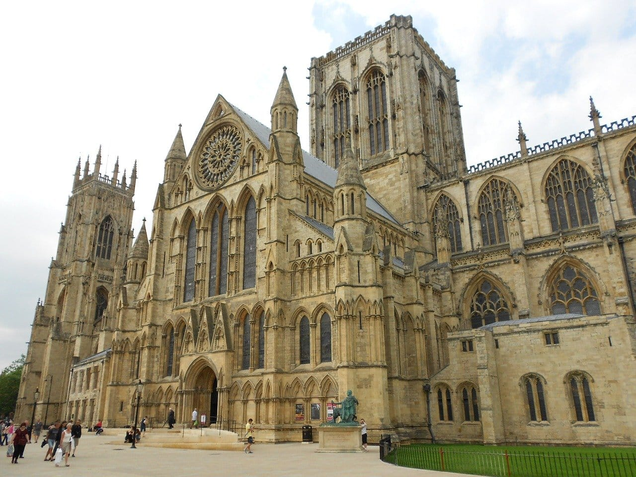 The world-famous York Minster, one of the best things to do in York