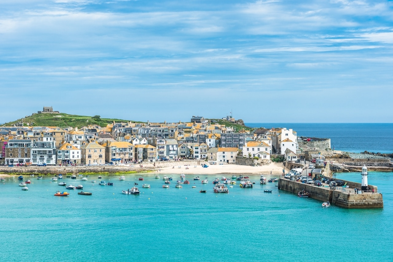 St Ives Harbour, England