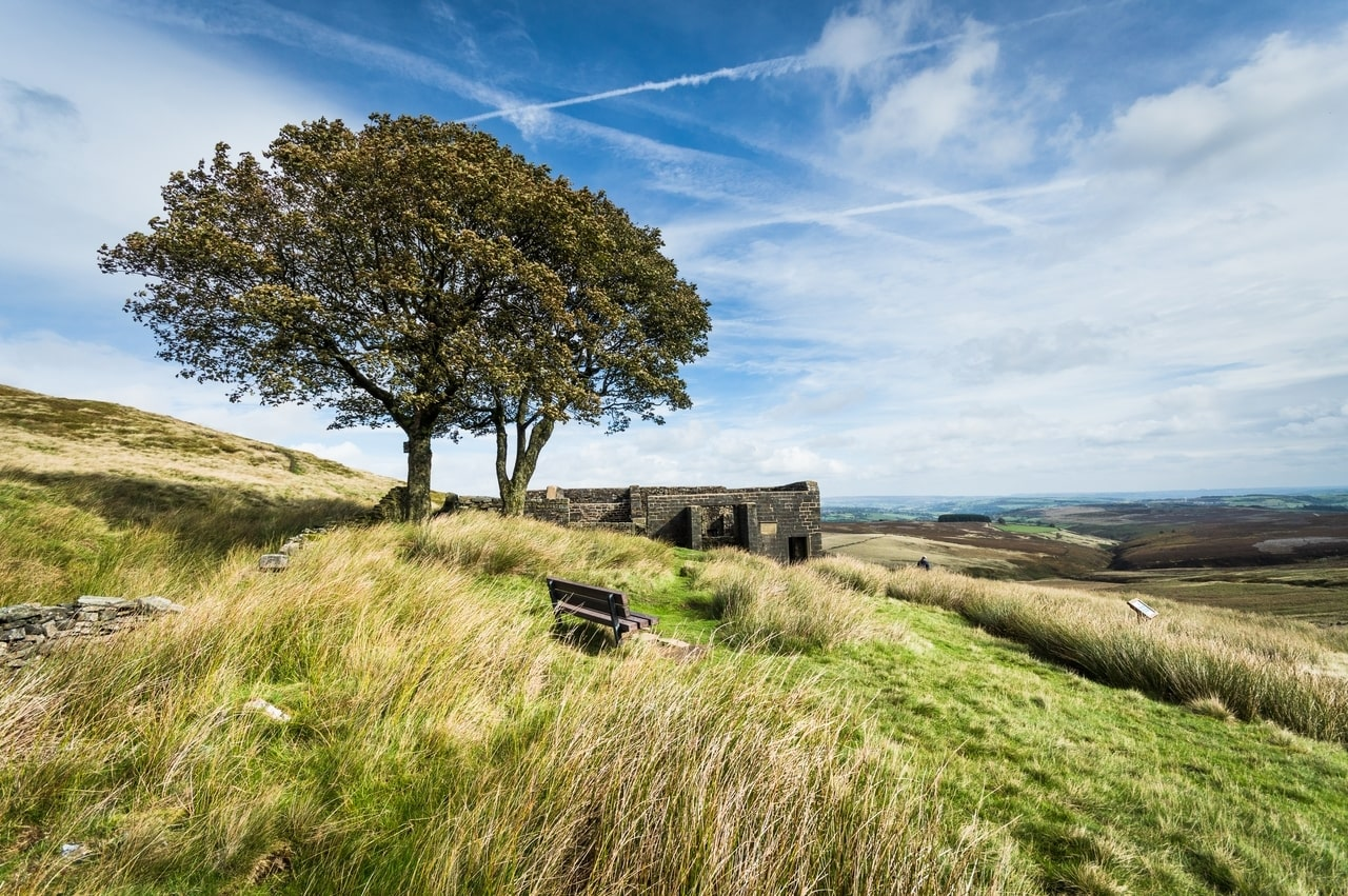 Top Withens Hike in Howarth, Bronte Country, UK
