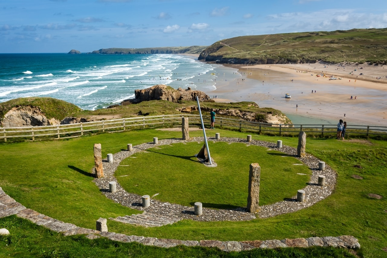 The best of all short breaks in Cornwall - the seaside town of Perranporth