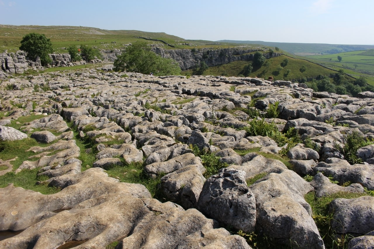 Malham Cove from above