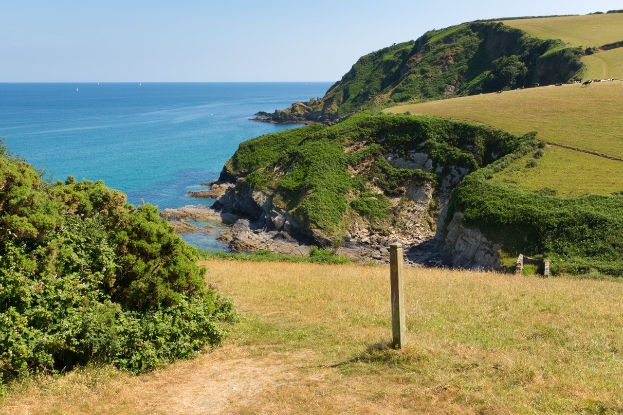 Hiking from Mevagissey to Pentewan