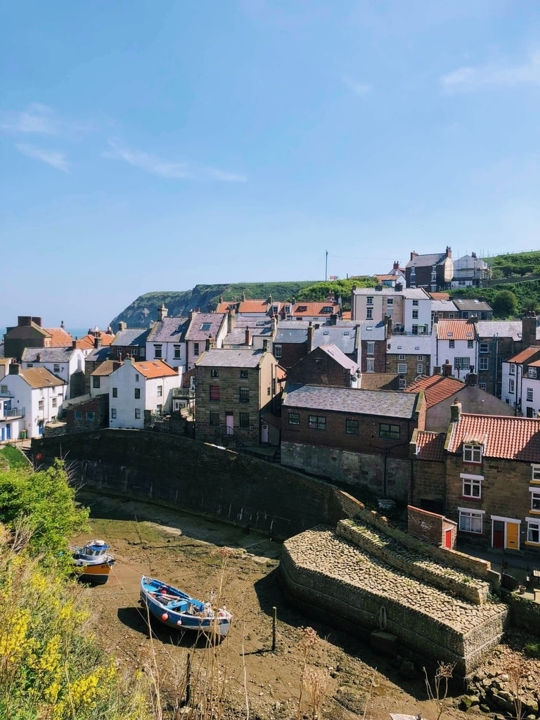 Staithes in North Yorkshire is a free day out for families