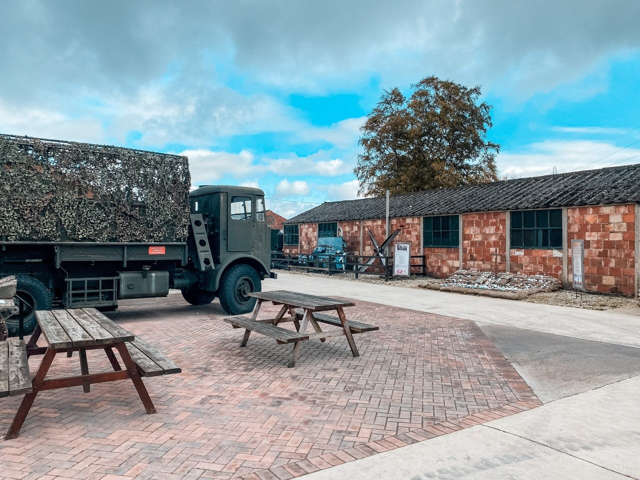 Eden Camp Museum outside York in England, a great day out in Yorkshire