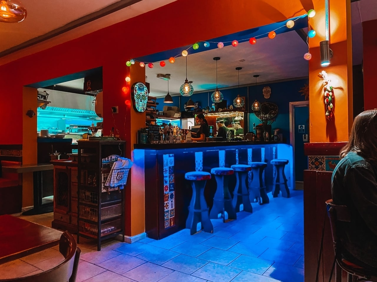 Lupes Cantina, one of the best restaurants in Leeds, West Yorkshire.