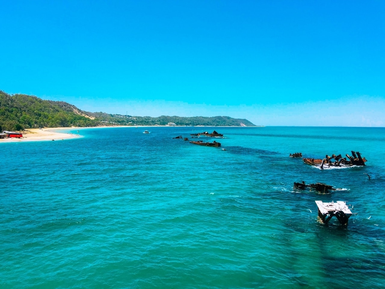 Visiting Moreton Island in Australia is one of my best backpacking tips