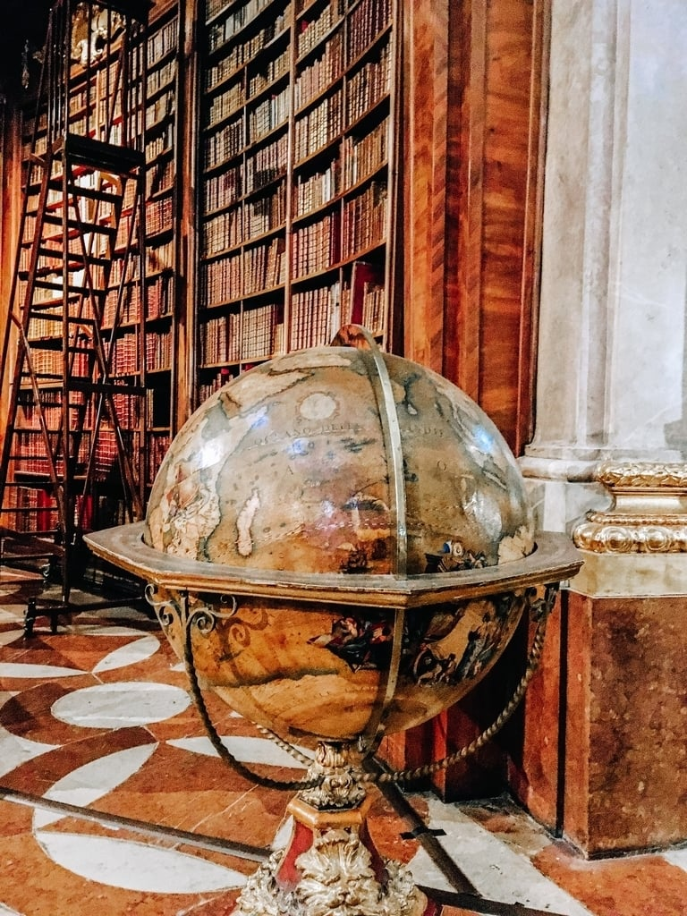 Vienna National Library, one of the best museums in Vienna you have to visit during 2 or 3 days in Vienna.