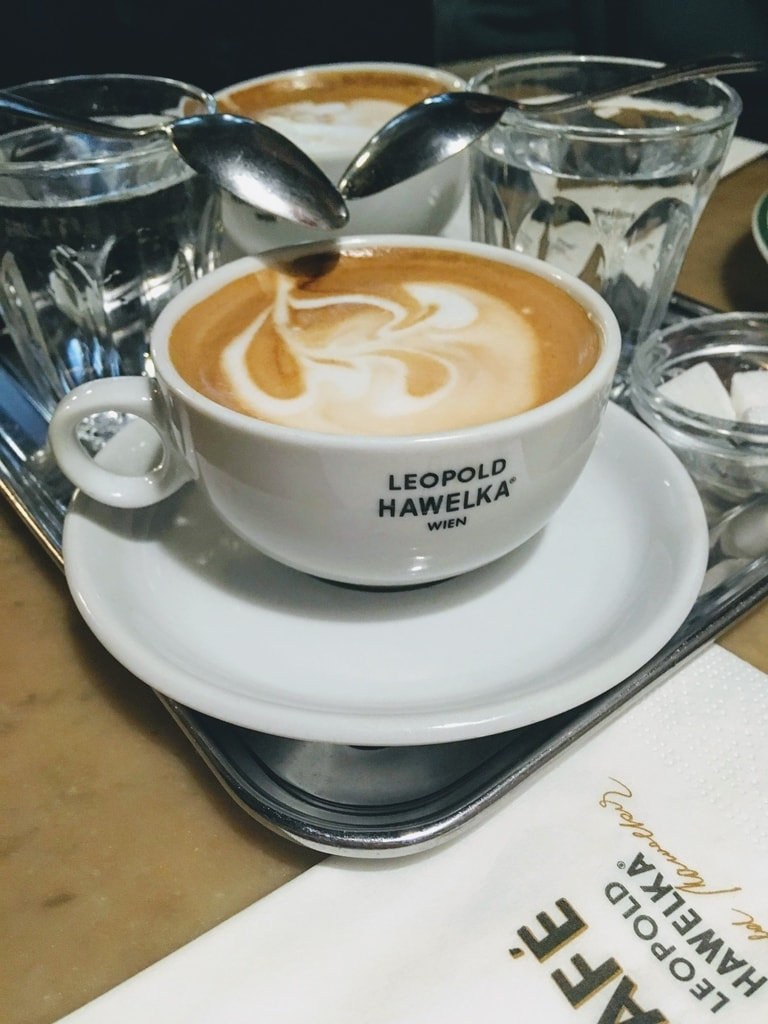 Best cafes in Vienna to try the best coffee and cakes in Vienna Austria.