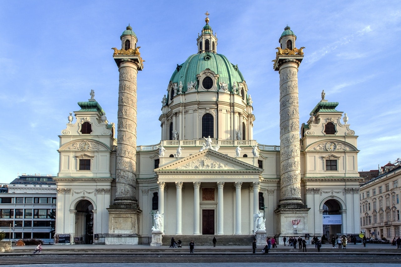 Karlskirche in Vienna is something to add to your 2 or 3 days in Vienna Austria itinerary.
