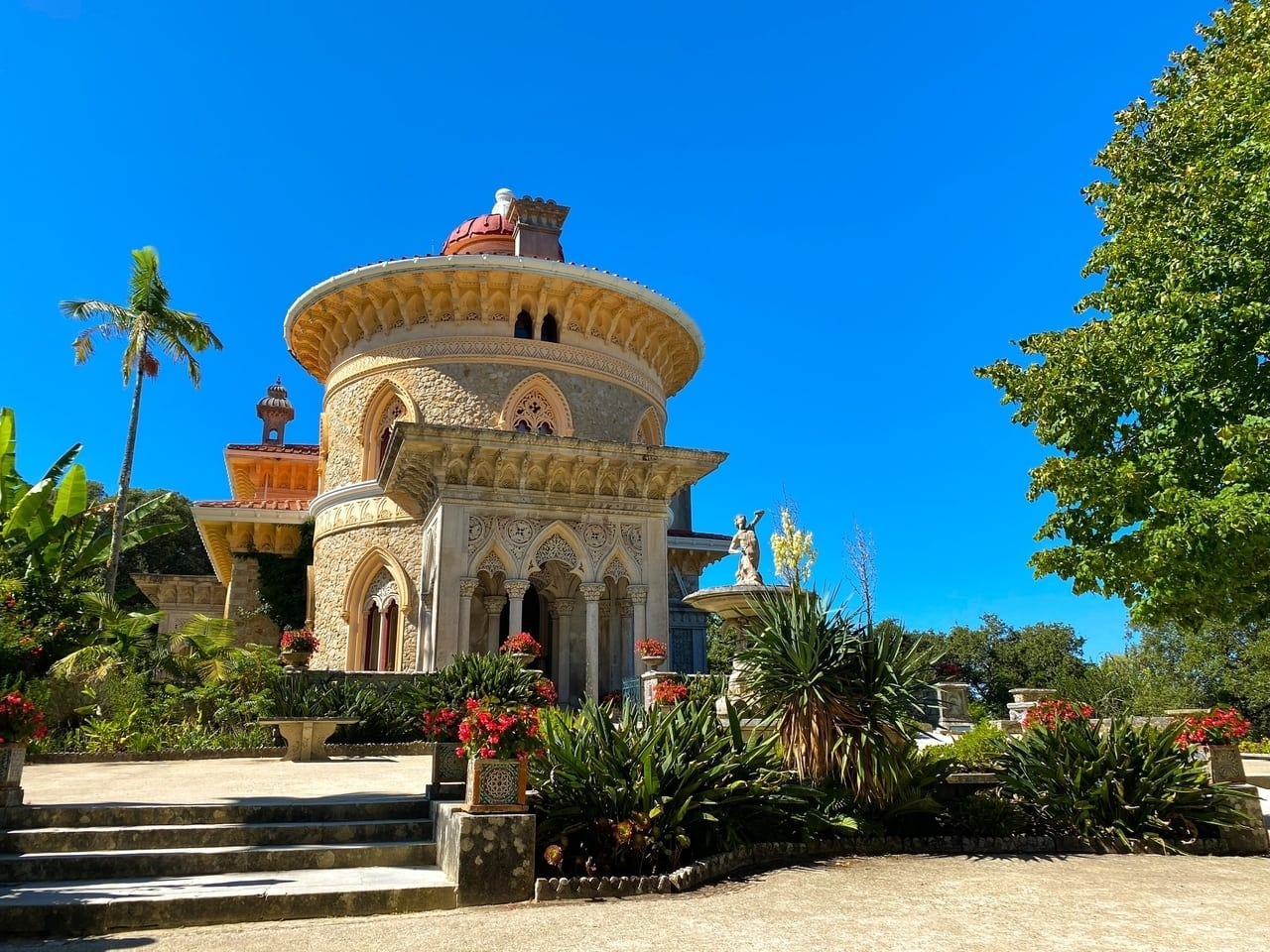 Monserrate Palace Sintra Portugal tickets