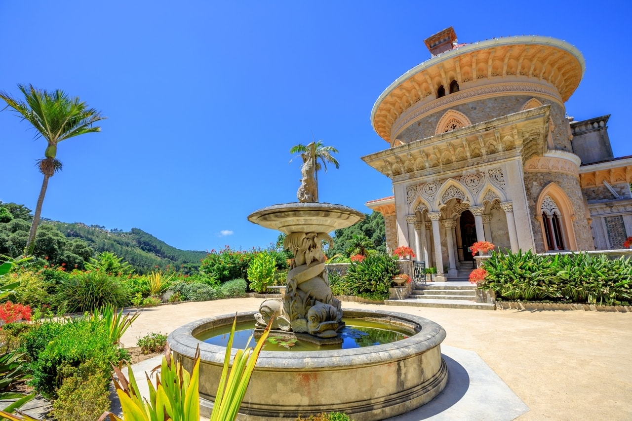 Monserrate palace a hidden gem in sintra portugal