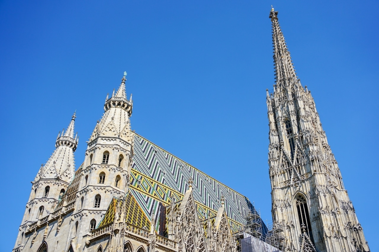 Add St Stephen's Cathedral to your 2 or 3 days in Vienna itinerary. It's one of the fun and cheap things to do in Vienna.