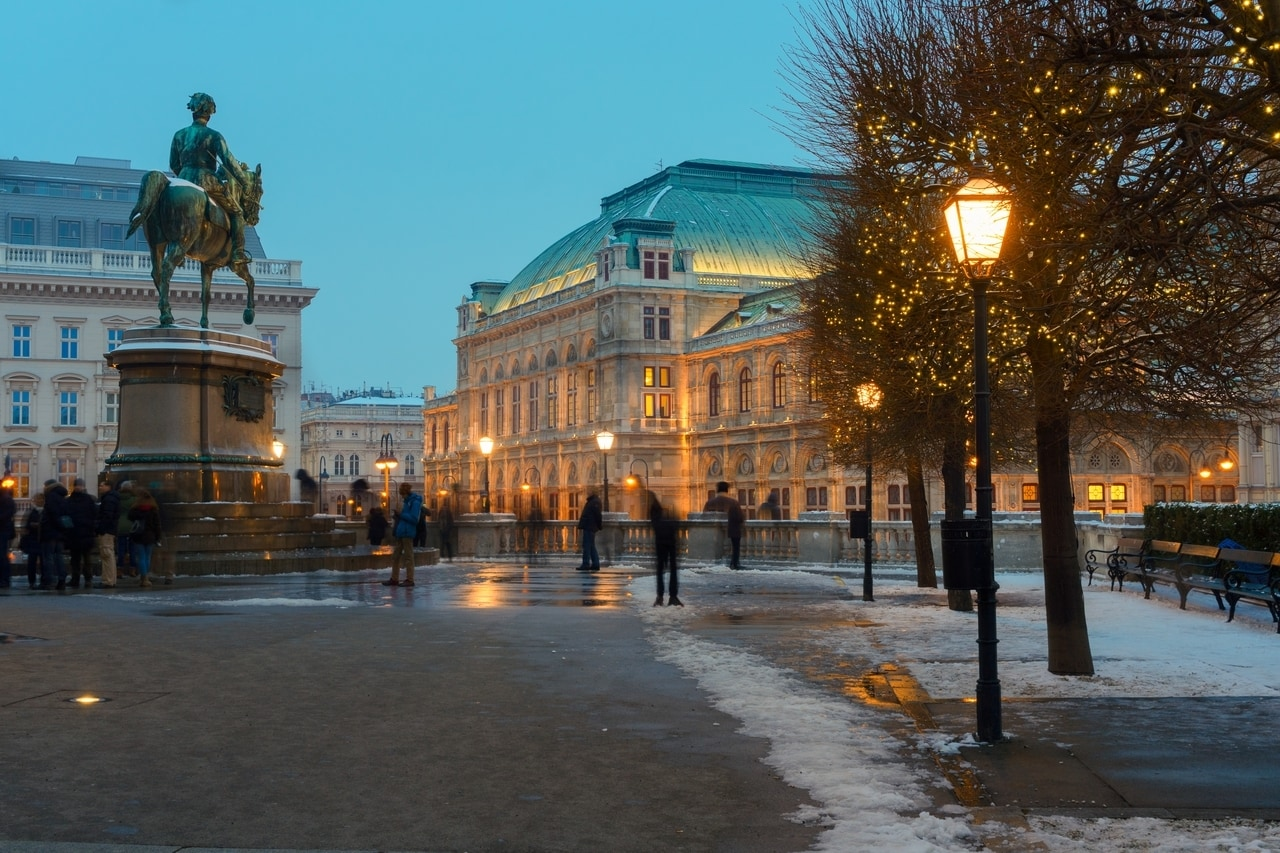 Visitors wonder when is the best time to visit Vienna? I spent 2 or 3 days in Vienna in January.