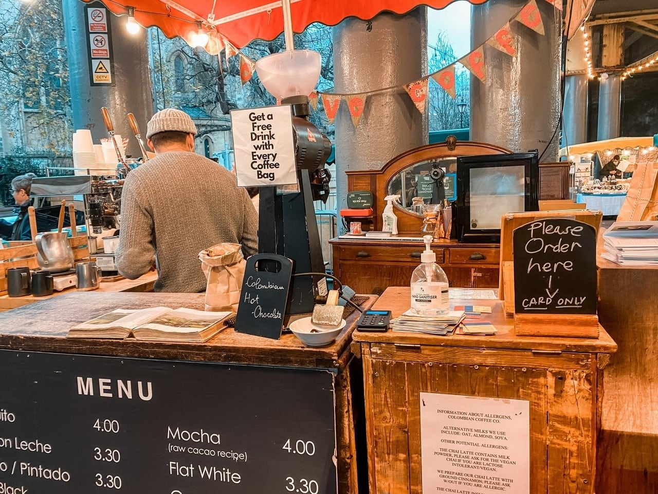 Where to find the best coffee near borough market in London