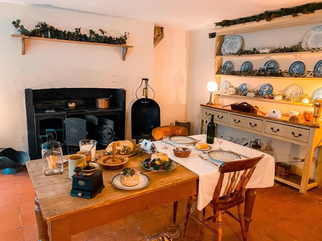 Victorian kitchen in London
