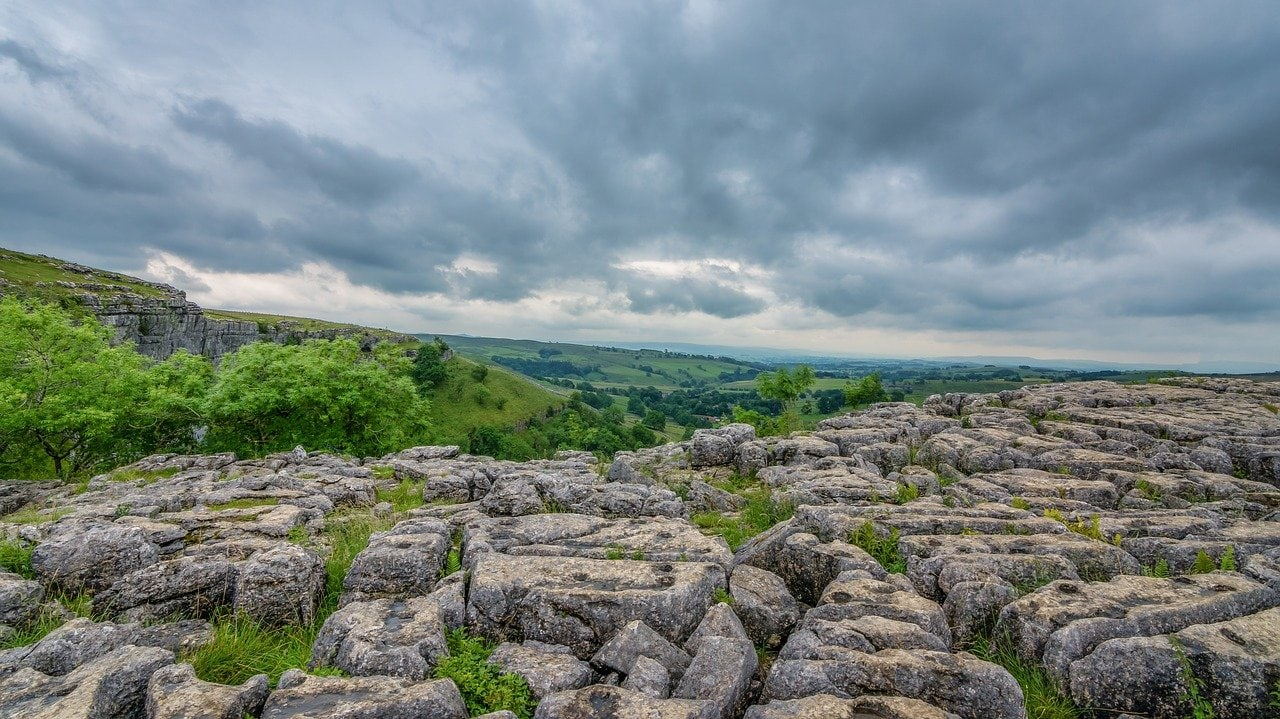 Malham Cove is one of the best day trips from Leeds