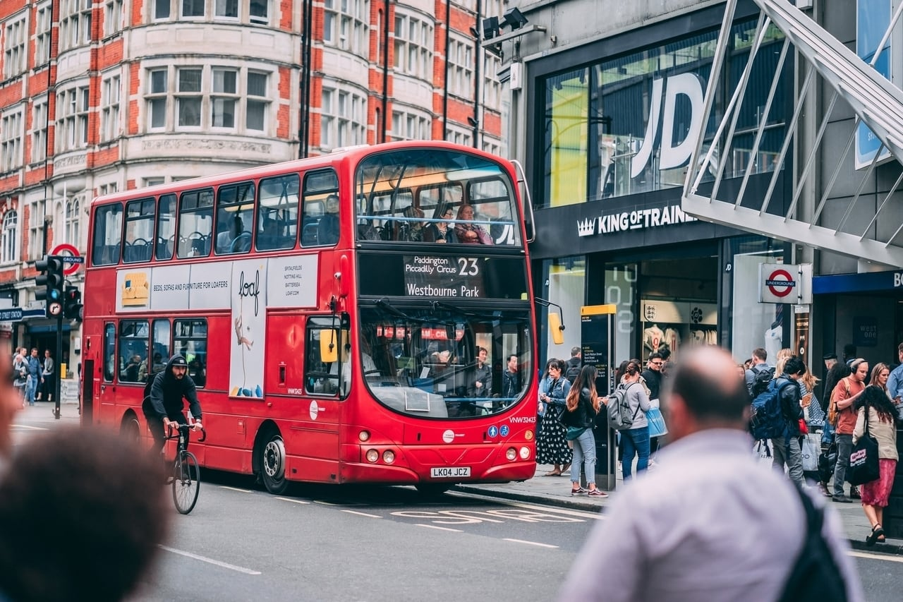 London buses are very cheap