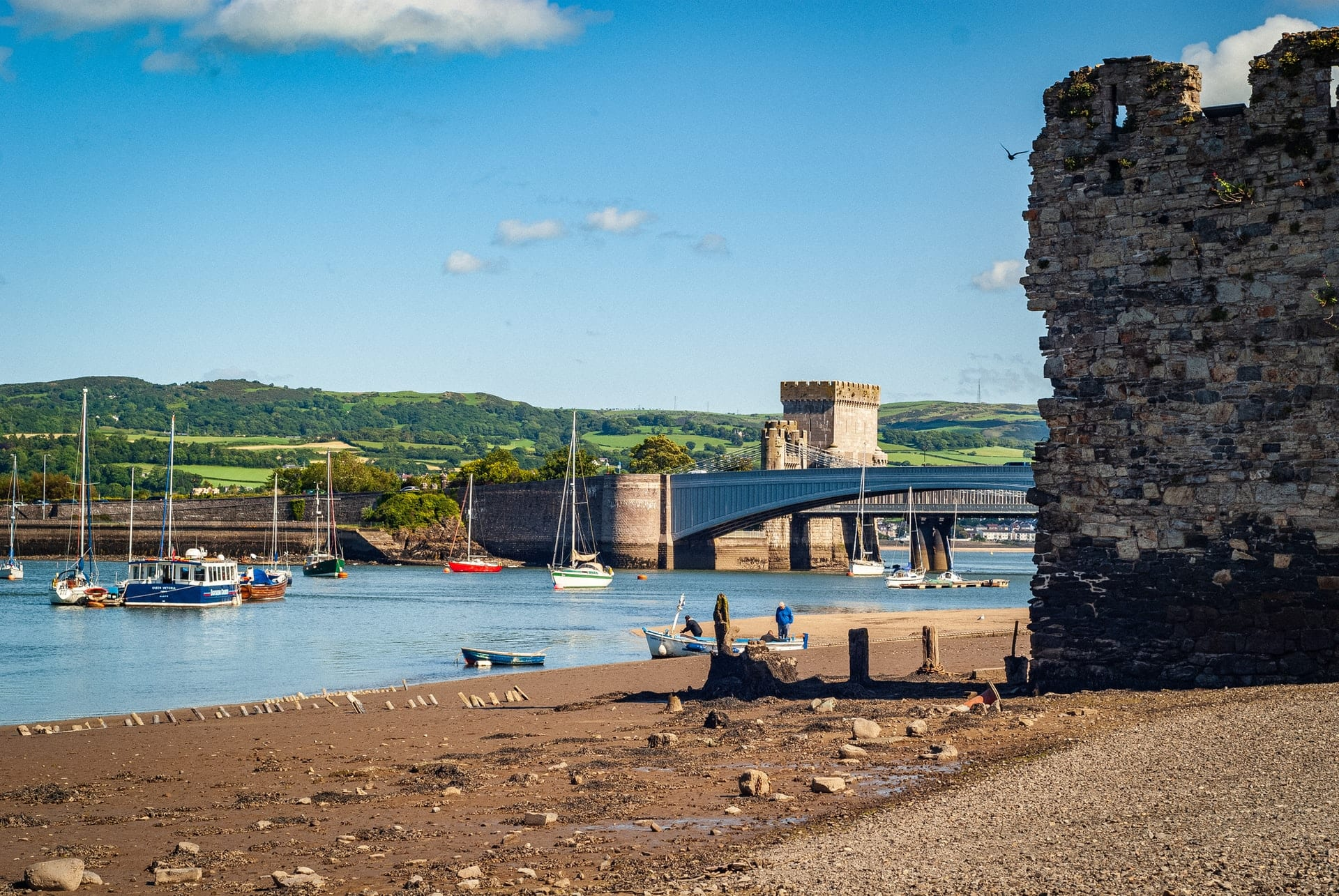 Visiting Conwy in North Wales is on my 2021 travel wishlist
