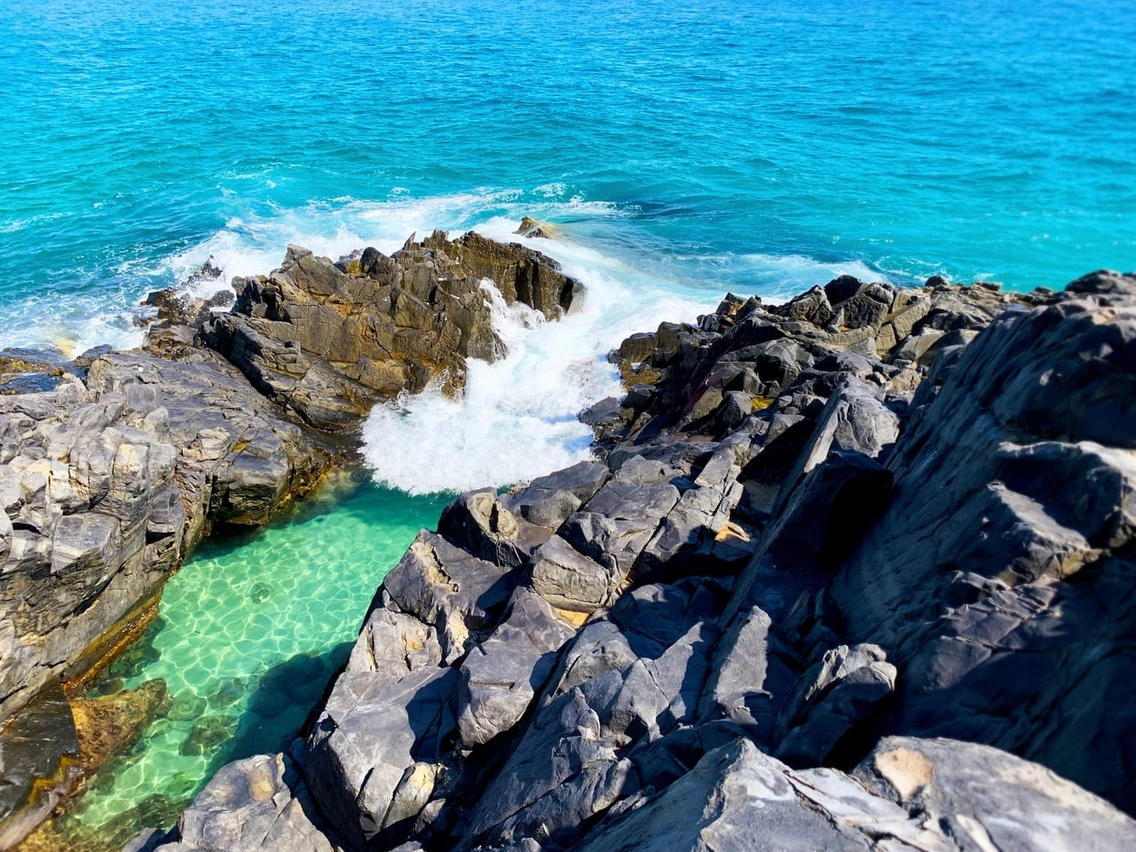 Noosa Fairy Pools, one of the best Noosa attractions