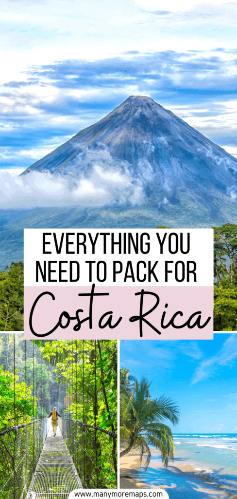 Planning a trip to Costa Rica and wanting to know what to pack? Check out my tried and tested Costa Rica packing list for women! I visited Costa Rica in March and this packing list covers everything you could possibly need for travel to costa rica in summer, in the rainy season, or whenever you're going. I have also made a carry on packing list for Costa Rica. I'll answer all your questions on what to wear in Costa Rica, what to pack for Costa Rica, what to bring to Costa Rica and share my tips
