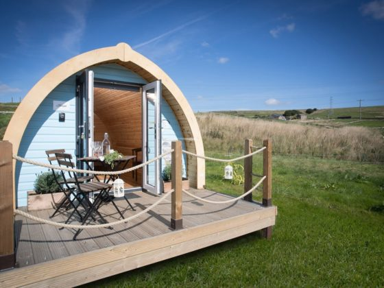 glamping near blackpool