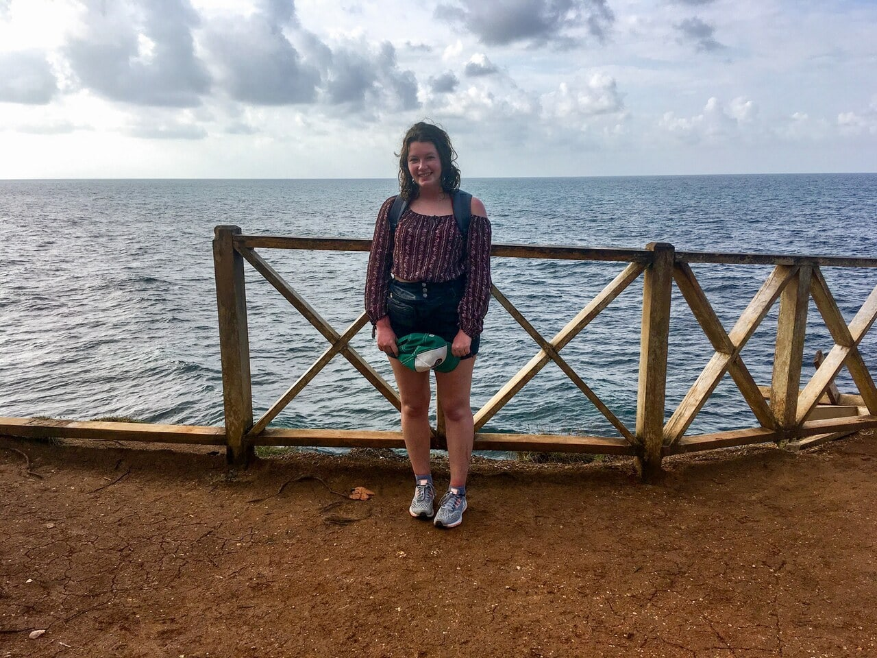 Girl solo travelling in Costa Rica