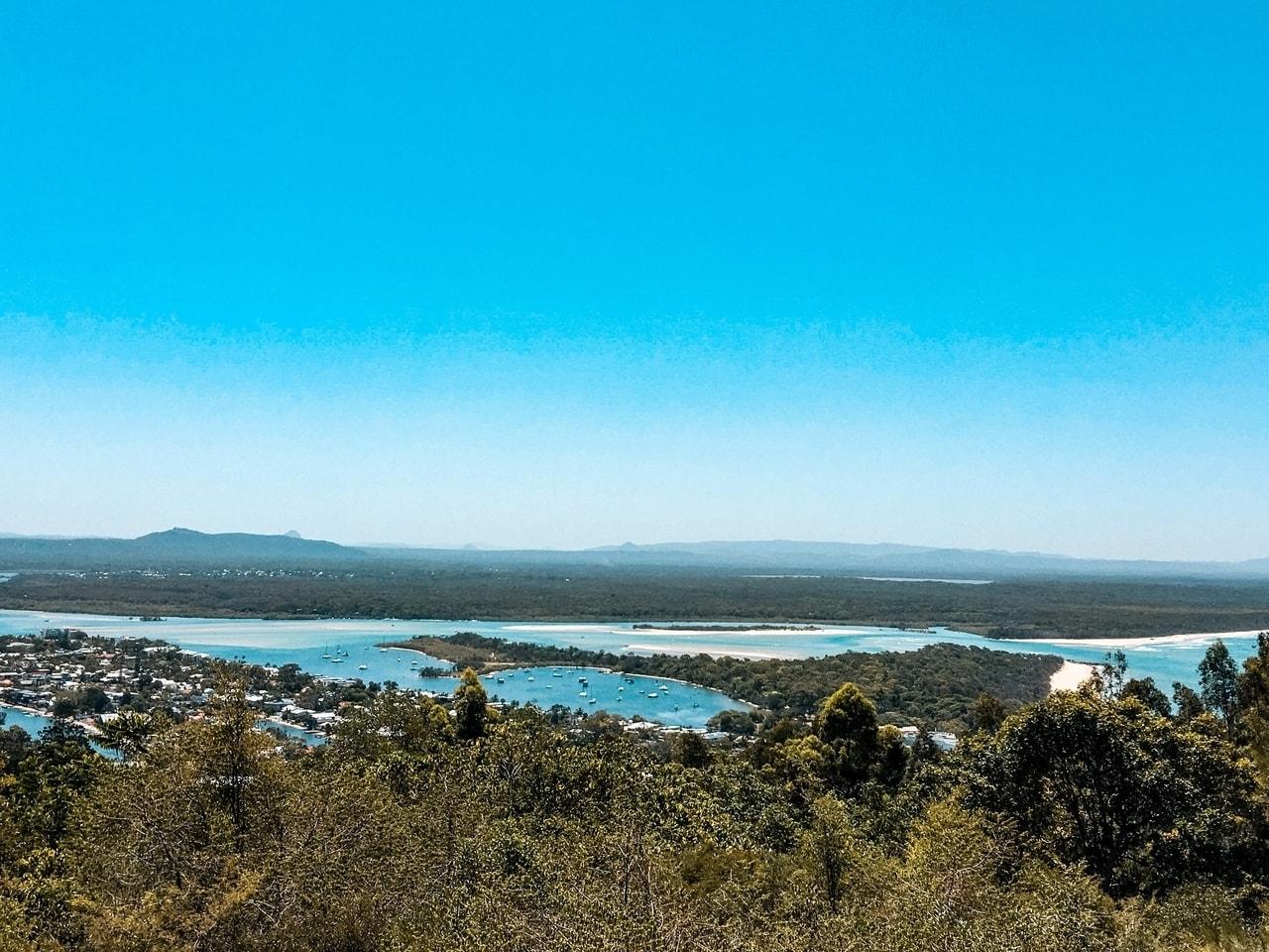 Laguna Lookout in Queensland