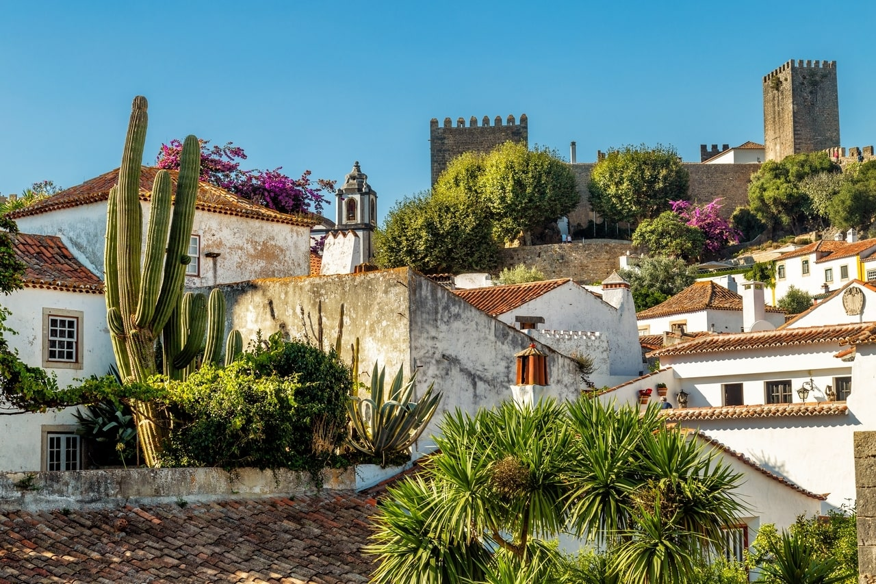 The book town of Obidos in Portugal