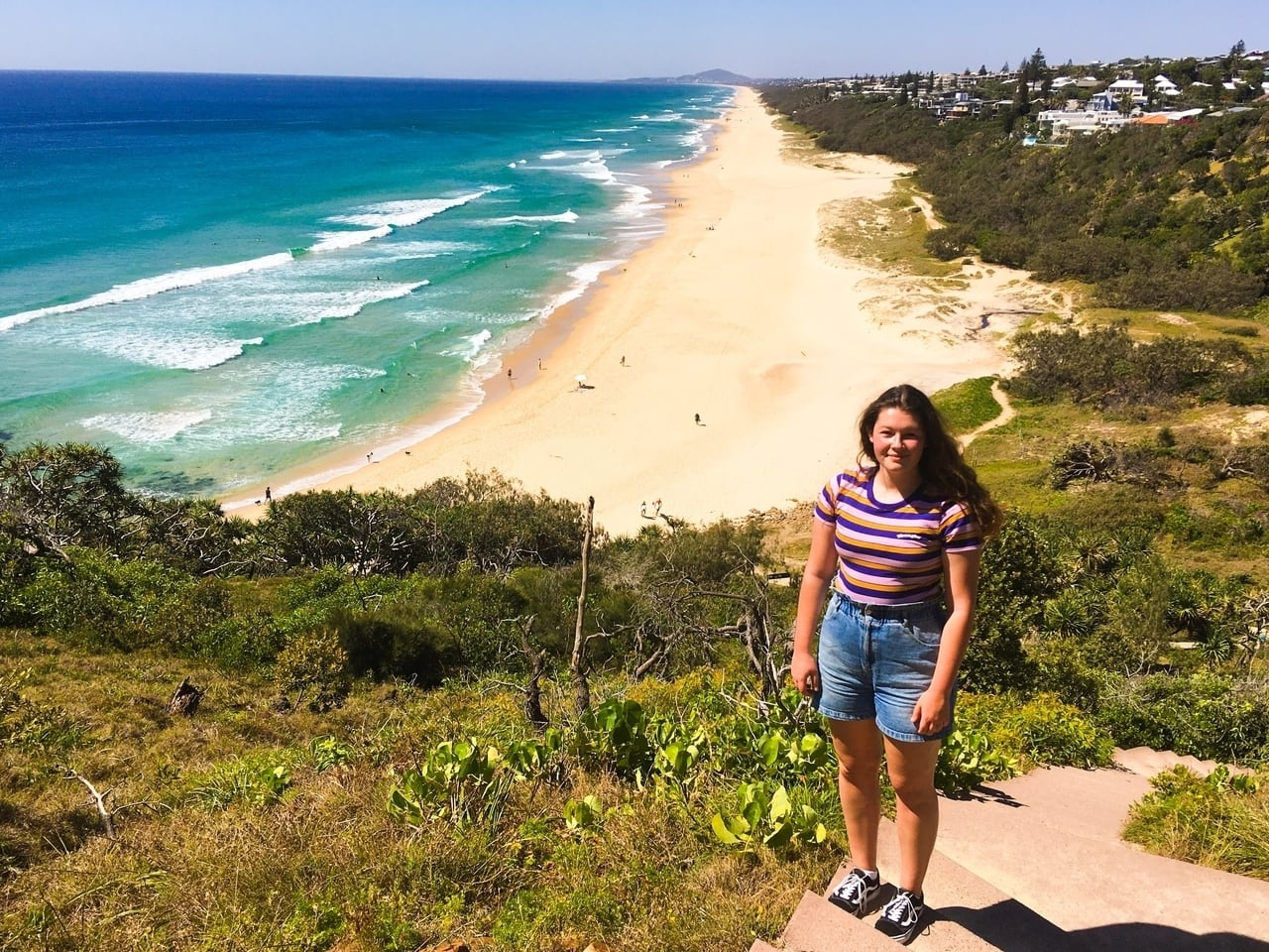 Hiking in Noosa National Park, one of the best things to do in Noosa.