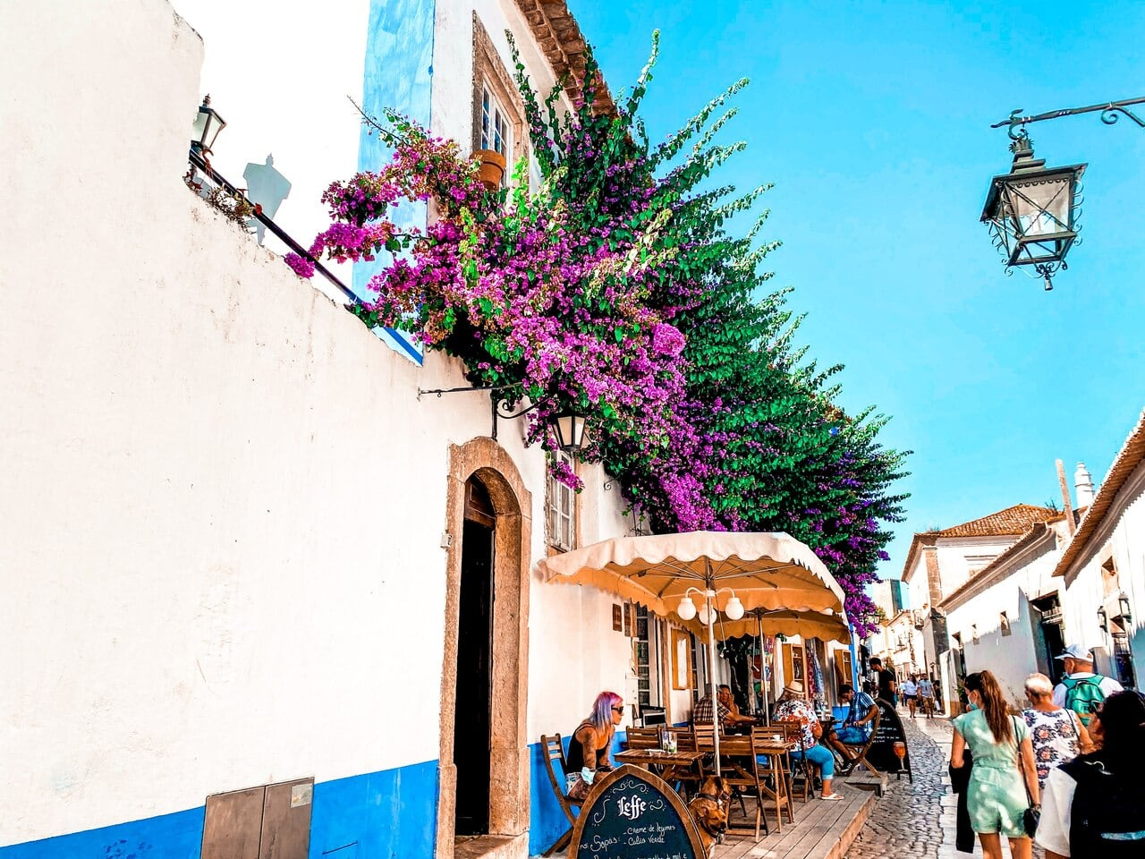 Traditional street in Portugal