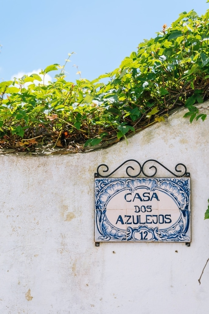 Streets in Obidos, Portugal