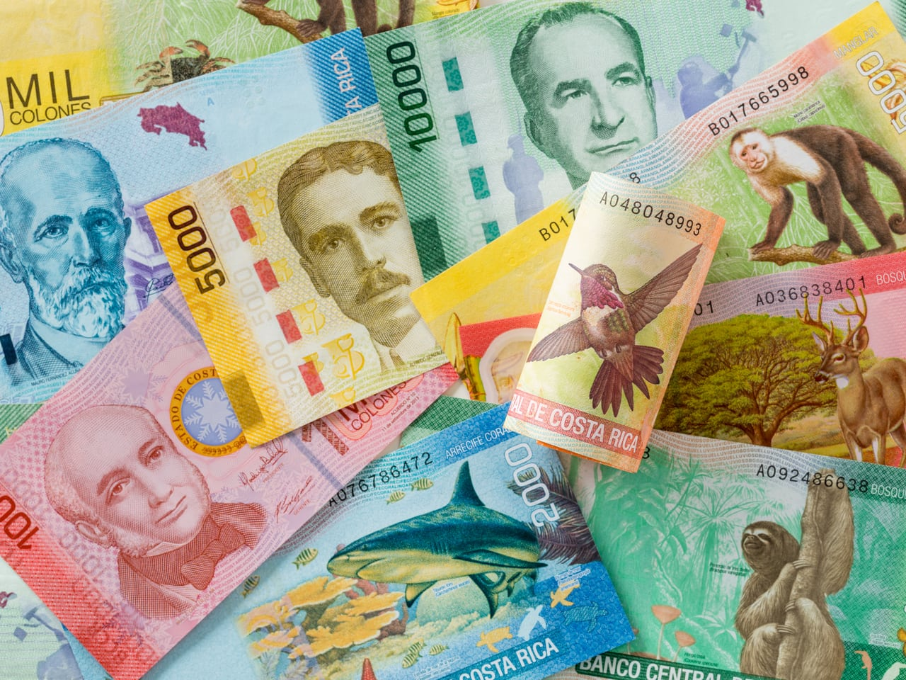 Currency in Costa Rica and Costa Rican cash