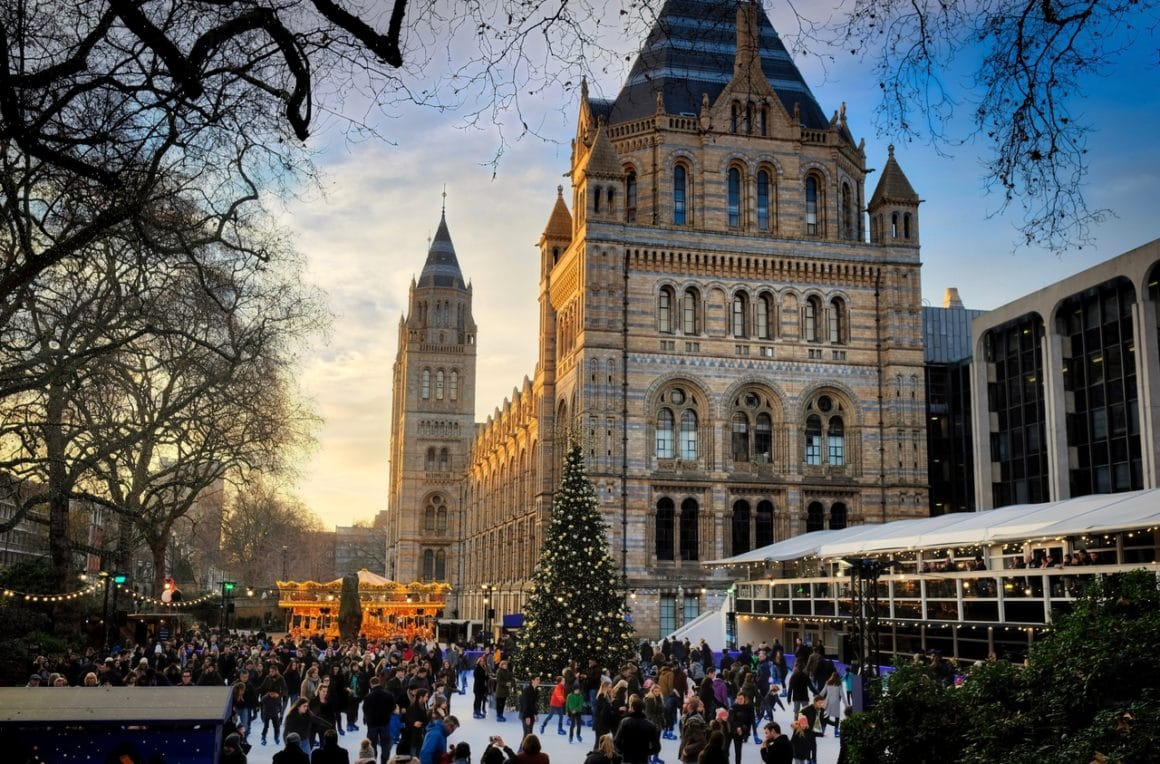 Visiting London in winter