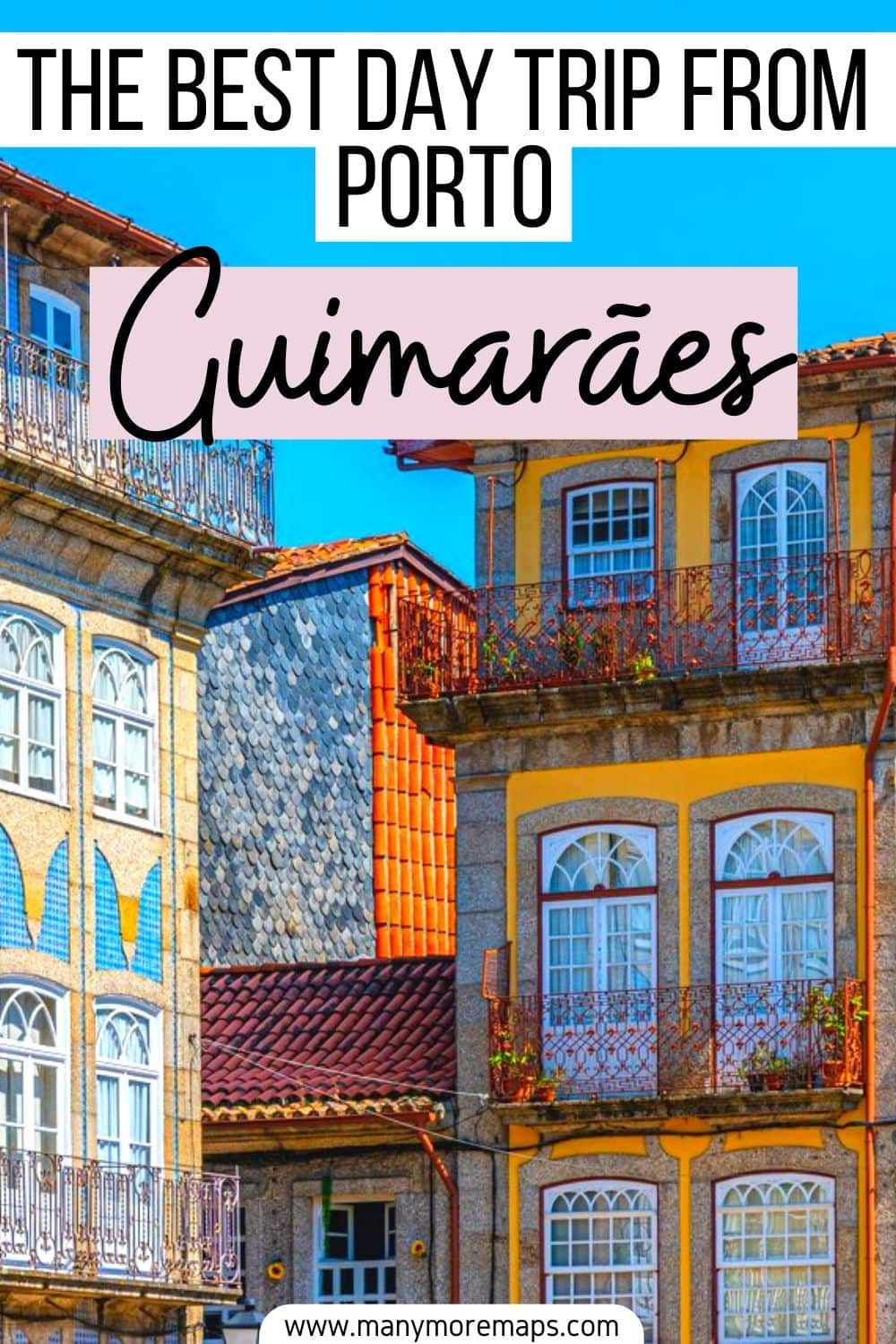 If you're planning some day trips from Porto, Portugal, look no further than the beautiful medieval town of Guimaraes! This is a really easy and cheap place to visit, ideal for travel in portugal on a budget. Places to visit in Portugal, beautiful places in Portugal, things to see and do in Portugal, Portugal travel tips, travel guide, travel advice, Portugal day trips, Portugal travel bucket list, travel inspiration, travel ideas