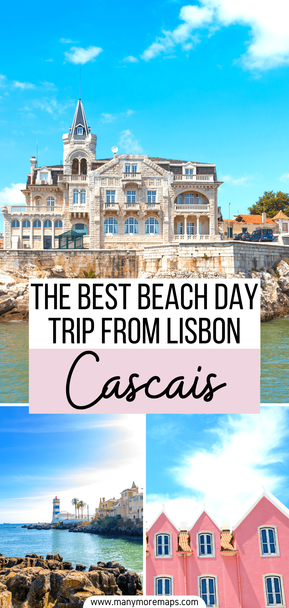 Looking for the best beaches near Lisbon and want to take a day trip to the beach? Cascais is the best place to visit if you're looking to hang out on the beach, go on some coastal walks and visit some historical attractions. Things to do in Cascais Portugal, Cascais beaches, Lisbon beaches, free things to do Lisbon, Lisbon on a budget, Boca do Inferno Cascais, Cascais photos, Cascais town city Portugal, Lisbon best beaches, places to visit near Lisbon, day trips from Lisbon