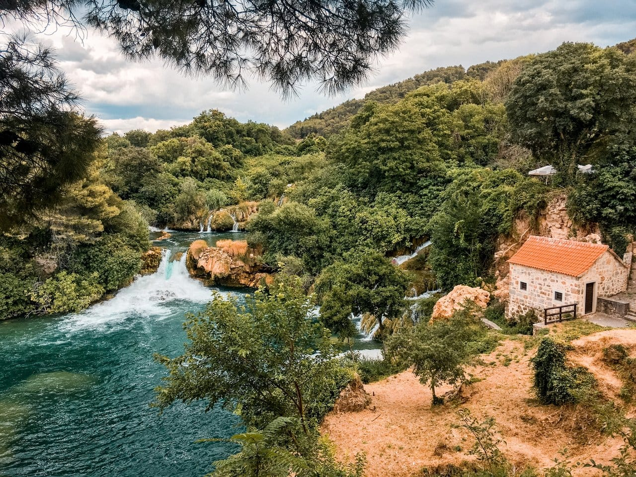 Krka waterfalls day trip from Split
