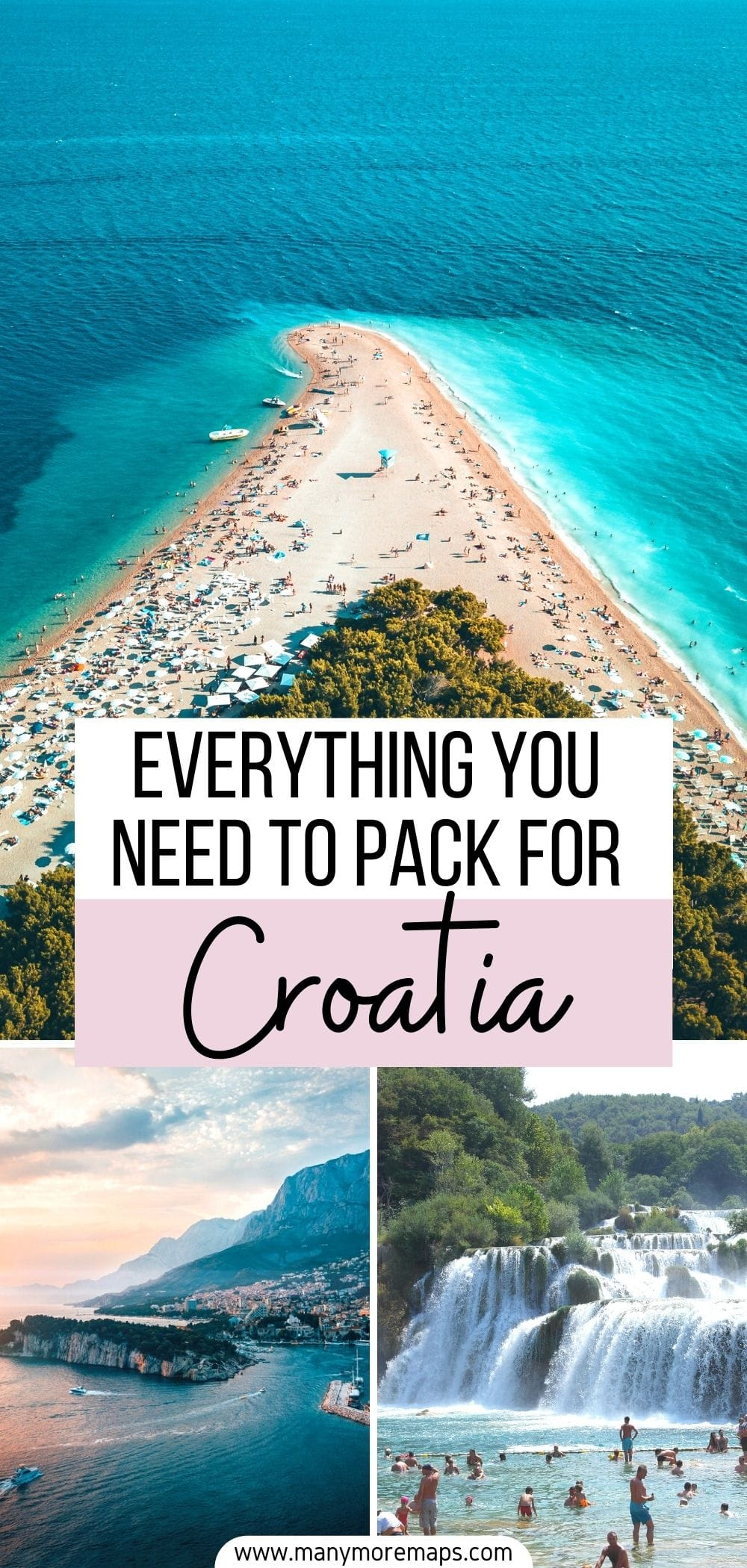 Planning a trip to Croatia and wanting to know what to pack? Check out my tried and tested Croatia packing list for women! I visited Croatia in summer and this packing list covers everything you could possibly need for travel to Croatia and go island hopping. I have also made a carry on packing list for Croatia. I'll answer all your questions on what to wear in Croatia what to pack for Croatia, what to bring to Croatia and share my travel tips