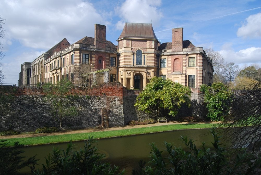Eltham Palace in Greenwich, one of many royal places in London