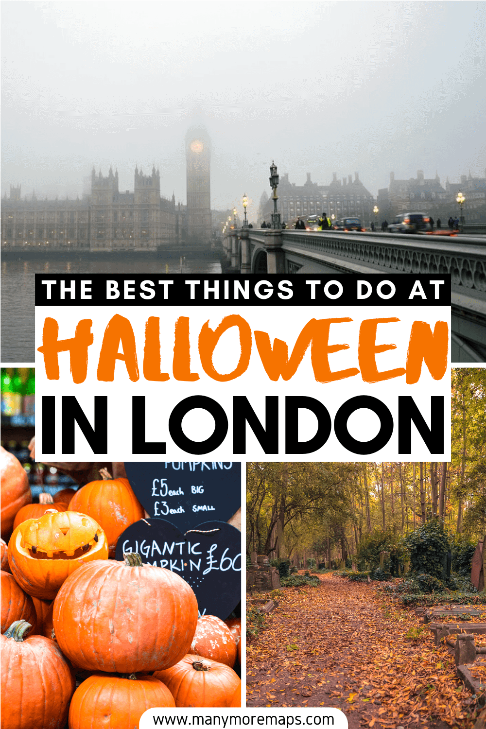 Planning to visit London in autumn or fall and want to know the very best spooky things to do and haunted locations to visit in London for Halloween? From taking a Jack the Ripper tour to visiting the London Dungeons and having a pint in one of London's haunted pubs, here is the perfect Halloween and autumn bucket list for London! Halloween in London, Halloween activities in London