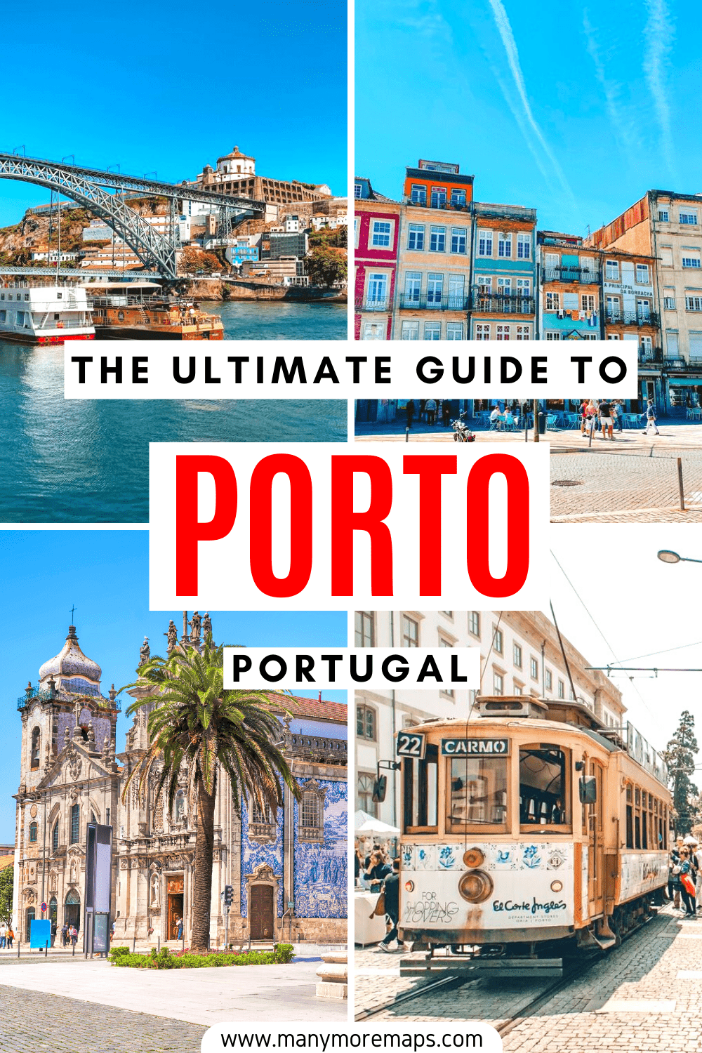 Everything you need to know to plan your trip to Porto, a beautiful city in the North of Portugal! This travel guide includes the best things to see and do in Porto, a suggested itinerary for Porto, and other travel tips such as the best restaurants, where to stay, and when is the best time to visit!