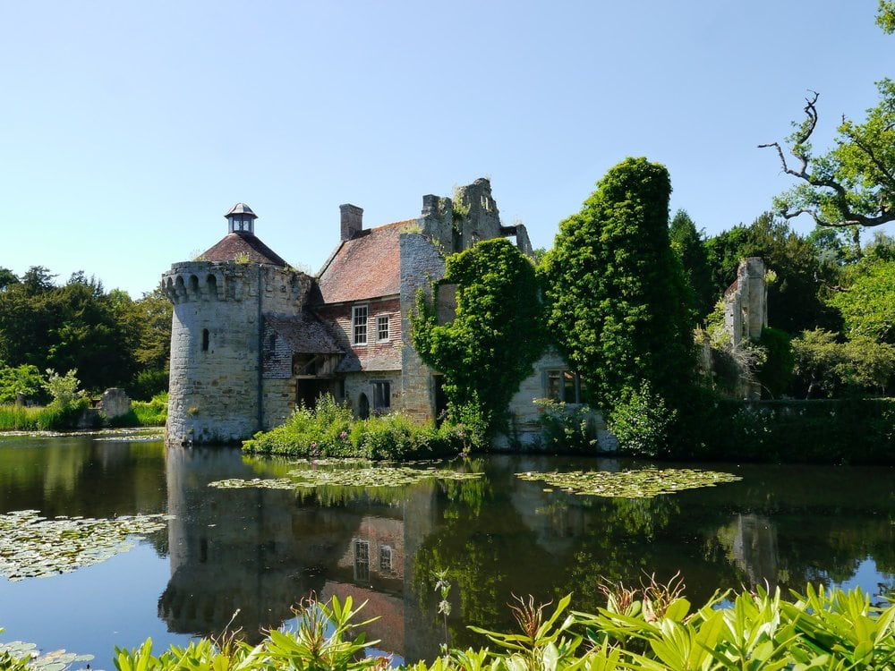 Scotney castle, one of the best castles in kent