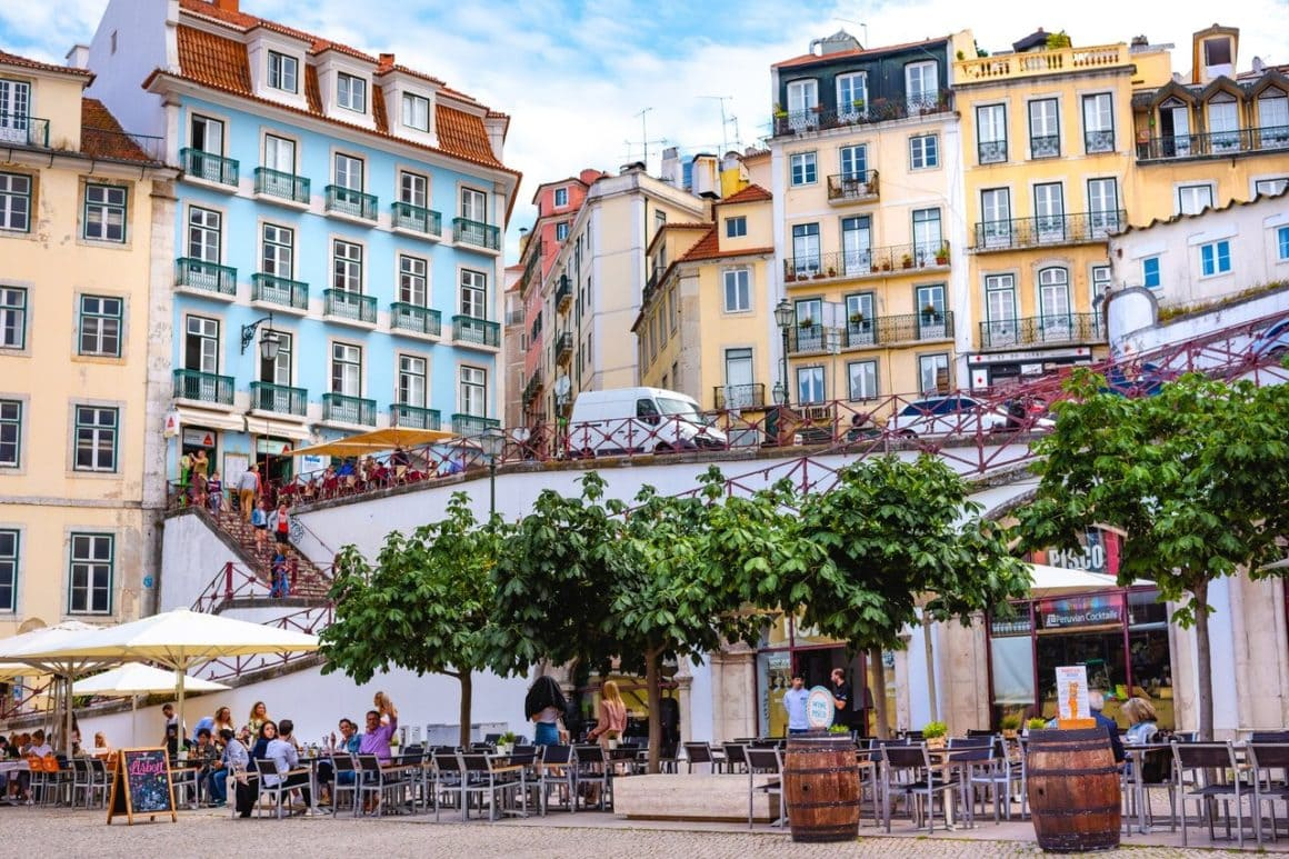 Solo backpacking in Lisbon Portugal